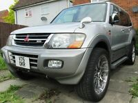 Mitsubishi Pajero 3.2 DI-D Exceed Automatic Diesel - Rare Japanese Import