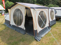 RACLET 'SOLENA' trailer tent - on display at camping exhibit until 23-07-17