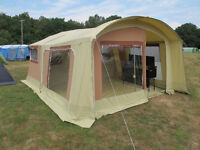 RACLET 'ARMADA GL' trailer tent - on display at camping exhibit until 23-07-17