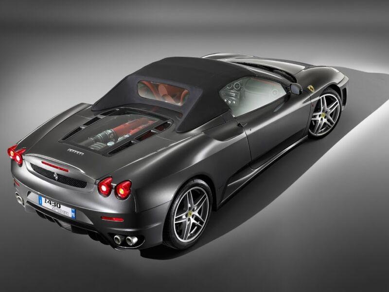 show sport parts for Ferrari F430