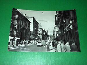 Cartolina Catania - Via Etnea 1958 - Italia - Si accetta la restituzione degli oggetti venduti entro 7 gg. dalla data di vendita. - Italia