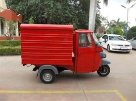 Tuk Tuk - Brand new! Promotional Advertising, Coffee Van, Prosecco Bar, Conversion, Piaggio Ape