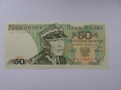 Banknote kommunist Polen: General ( in Uniform mit Mütze Rogadywka ) paper money