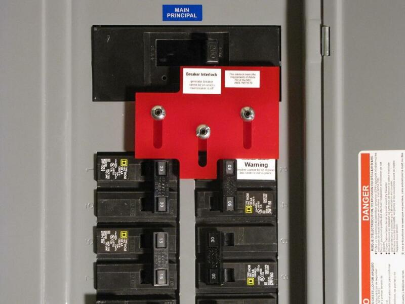 SD-2 Generator Interlock Kit for Square D Homeline panel