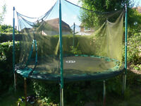 TP Trampoline 12ft with net