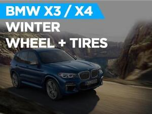 BMW X3 / X4 M40 WINTER TIRE + WHEEL Package TOTOTIRE 2018 - 2019