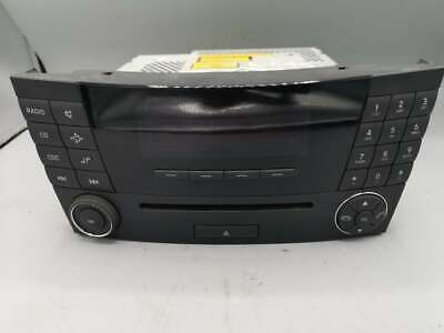 2004 MERCEDES E CLASS E270 CDI W211 RADIO CD PLAYER A2118209889 /K-595