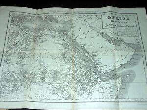 Collezionismo Cartina - Africa Orientale e la Colonia Italiana d' Assab 1940 ca - Italia - Si accetta la restituzione degli oggetti venduti entro 7 gg. dalla data di vendita. - Italia