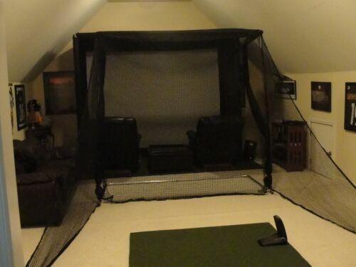 Ultimate Golf Net Frame with Ball Return 93 x 89**SKYTRAK**OPTISHOT*NET RETURN*