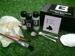 Custom Blackout DIY Box Football/Rugby Boots magista hypervenom tiempo ace x kit