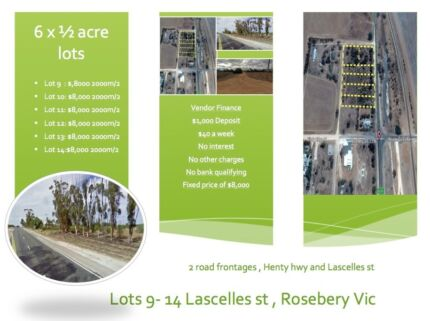 $40 a week 2000 m/2 Rosebery Vic Beulah Yarriambiack Area Preview