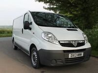 Vauxhall Vivaro /Renault Trafic 2900 CDTI LWB panel van serviced ready for work