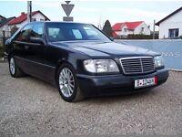MERCEDES S500 SE V8 W140 320HP LHD LEFT HAND DRIVE MEGA SPEC NOT BMW NOT AUDI *CLASSIC*