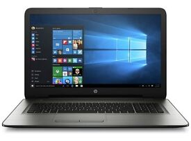 HP 17 inch laptop 8gb RAM 1TB hard drive Windows 10 HP 8 months warranty left
