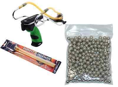 Catapult Kits (Barnett DIABLO Power Slingshot Catapult Kit with Ammo +)