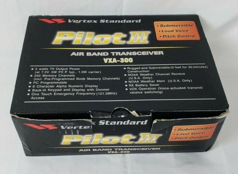 Standard Pilot III VXA-300 Professional Airband Transceiver