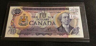 Canada 1971 $10 Dollars Uncirculated Nice Gem UNC. High Grade Banknotes