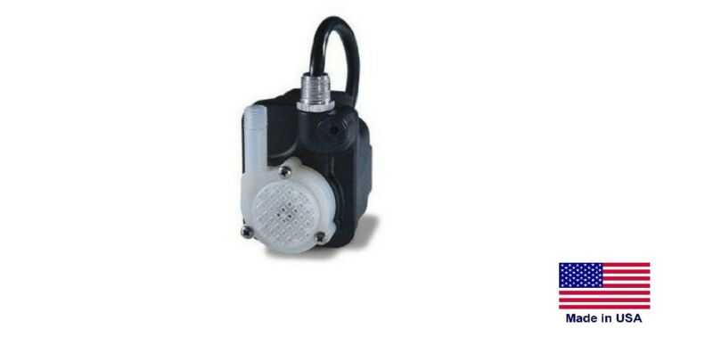 PARTS WASHER REPLACEMENT PUMP - 170 GPH - 115V - 0.6 Amps - 6 Ft Power Cord