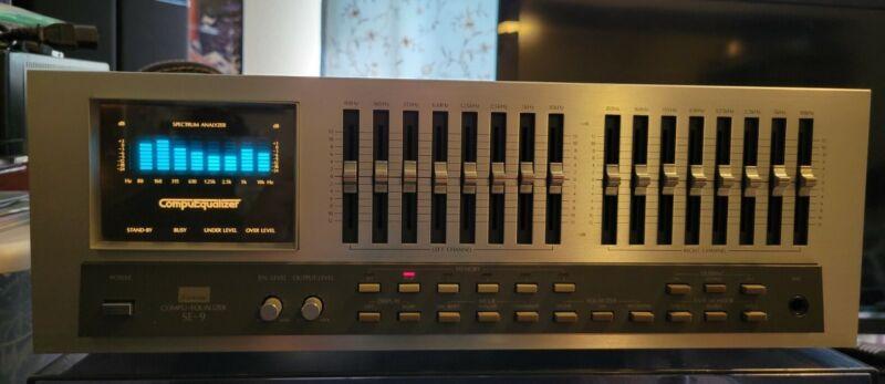 Vintage Sansui SE-9 Stereo Graphic Equalizer