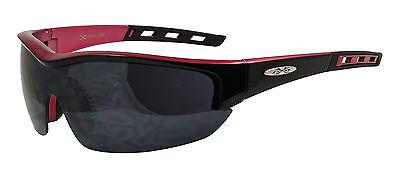 Xloop Hombre Mujer Diseñador Sports Ciclismo UV400 Rojo Claro Gafas de Sol...
