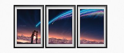 Kimi No Na Wa  Your Name  Posters 13X19 Set Of 3 Posters High Quality