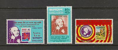 Bangladesh #157-159 VF MNH - 1979 40p to 10t Sir Rowland Hill