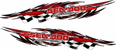 SEA DOO Boat Car Truck Trailer  Graphics Decal Vinyl Stickers 2- 5 foot Wrap