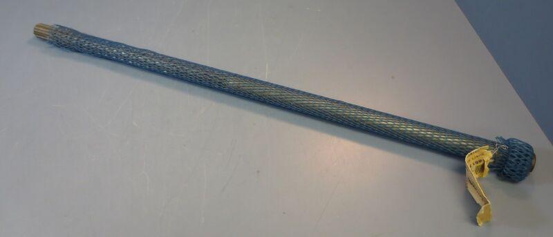 """RA Jones Keyed Spline Shaft 29.5"""" Long 1"""" OD Model 165177 NWOB"""