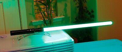 Green Lightsaber (Combat Ready Ultrasabers Consular Green Lightsaber Dark Apprentice like Force)