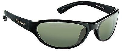 Flying Fisherman Sunglass Key Largo Matte Black Frame Smoke Lens 7865BS