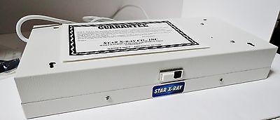 Star X-ray Illuminator X-ray View Box 110v .35 Amps 60 Cycle De100 Nib