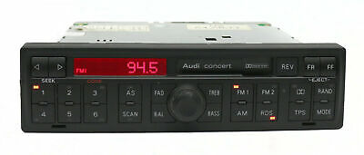 1998-2003 Audi A4 A6 S4 S6 TT Allroad AM FM Cassette Player Radio 4B0035186A
