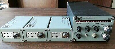 Quantum Design Model 2010 Squid Control Vhf And Rf Squid Amplifier