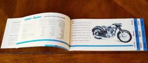 Horex range brochure Prospekt, 1956