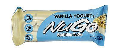 NuGo All-Natural Nutrition Bar Vanilla Yogurt 1.76-Ounce Bars (... Free Shipping ()