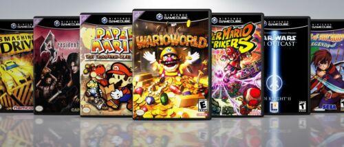 Custom Nintendo GameCube Covers and EU Style Cases: Titles O-Z .  !! NO GAMES !!