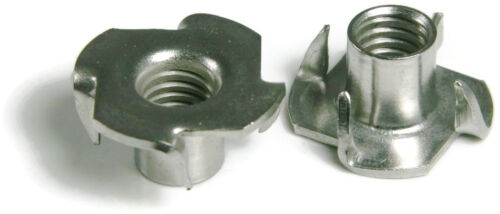316 Stainless Steel T Nuts - All Sizes - QTY 100