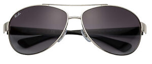 3101f4709c4 Ray-Ban Rb3386 Pilot Sunglasses Gradient 63 mm - Silver Grey for ...