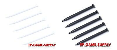 White Stylus - 5x New Nintendo 2DS XL JAN-001 Compatible Stylus Pen Black White
