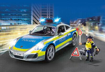 PLAYMOBIL® 70067 Porsche 911 Carrera 4S Police - S&H FREE WORLDWIDE