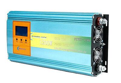 1200W Solar Netz-Wechselrichter GRID Tie Power Inverter DC28-48V/AC230V