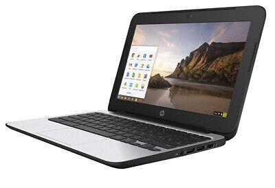 "HP ChromeBook 11 G4 11.6"" Intel Celeron N2840 2.16GHz 4GB 16GB SSD HD Graphics"