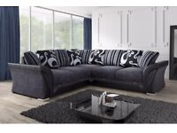 🌹🌹= LIMITED TIME= 🌹🌹BRAND NEW SHANNON LARGE SOFAS 🌹🌹== 3+2 OR CORNER + SAME DAY DROP + GURANTY