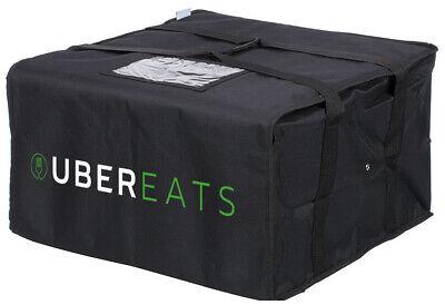 Uber Eats Jumbo Pizza Delivery Bag Jumbo Pizza Carrier Foam Padded Interior