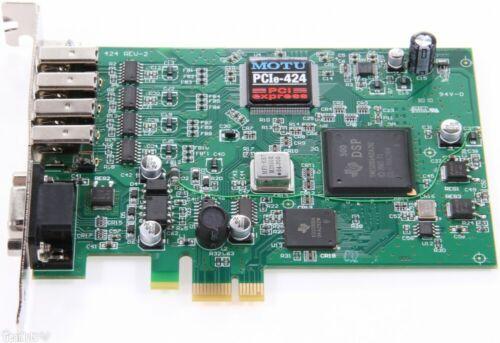 Motu PCIe 424 Pci Express