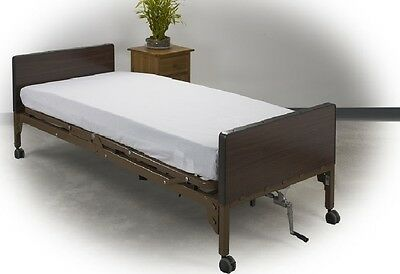 4 fitted hospital twin xl bed sheet 36x84x9 white t130 hospi