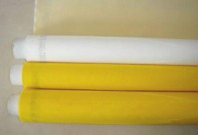 1.3x3 Yards 200 Mesh Count White Silk Screen Printing Mesh Fabric Polyester