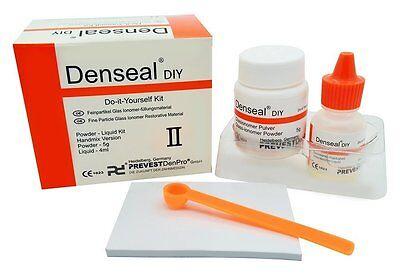PERMANENT White Dental Teeth Tooth Filling Kit, Loose Caps, 30+ Repairs