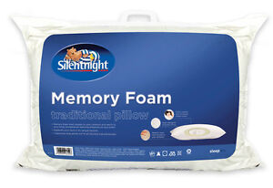 Silentnight Memory Foam Shell Traditional Pillow - Comfortable and Supportive