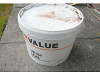 B&Q Value White Matt Paint